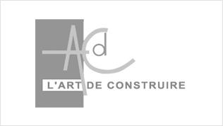 Lucas & Lucas - Logo L'art de construire