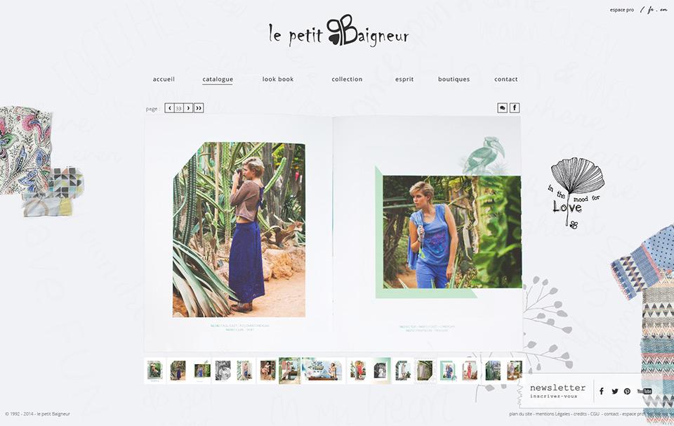 Agence web Lyon - Lucas & Lucas - Le Petit Baigneur