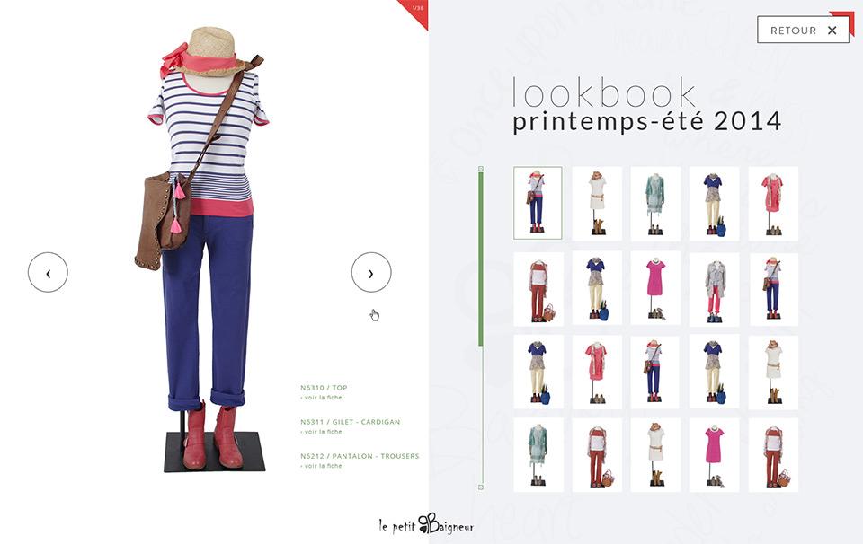 Lucas & Lucas - Lookbook Le Petit Baigneur