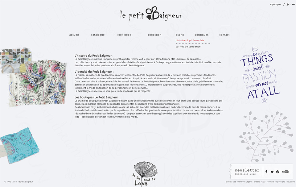 Lucas & Lucas - Création site internet e-commerce Le Petit Baigneur
