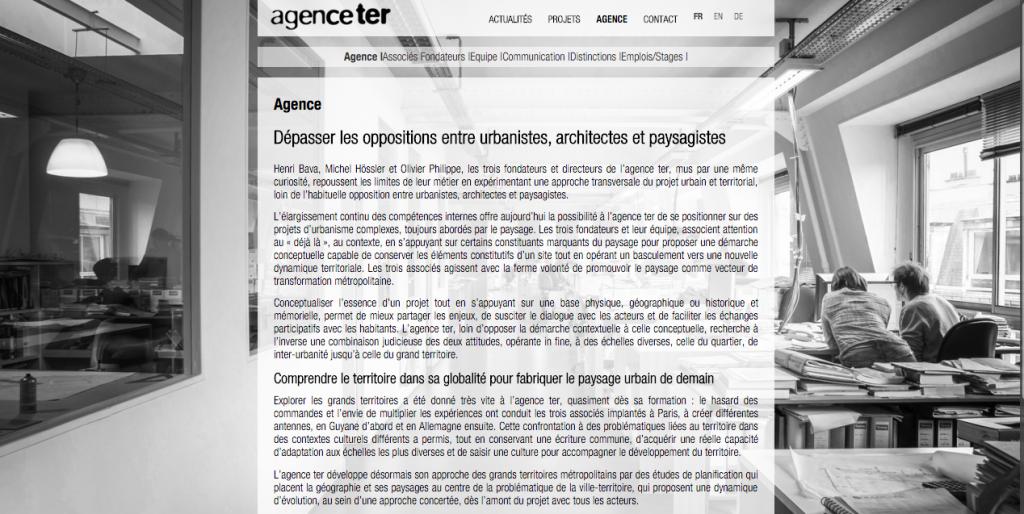 Lucas & Lucas - Page description Agence TER