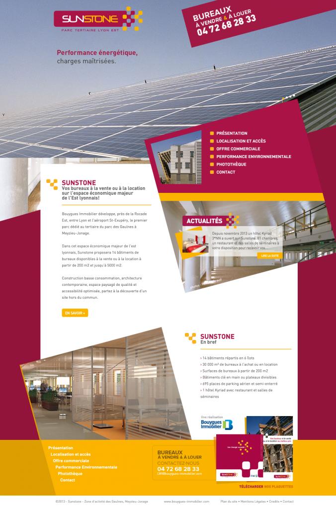 Lucas & Lucas - Page d'accueil Sunstone Bureaux