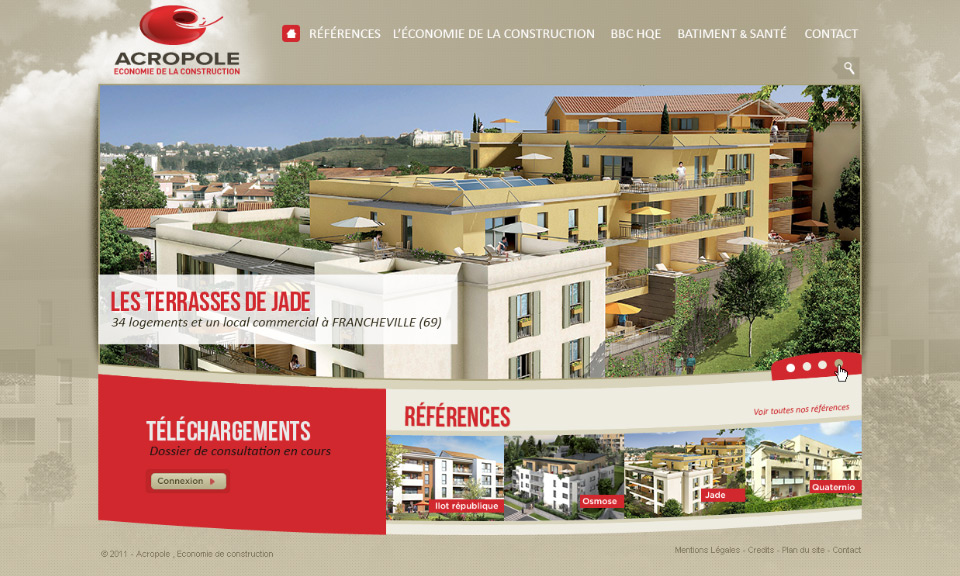 Lucas & Lucas - Page d'accueil Acropole Eco