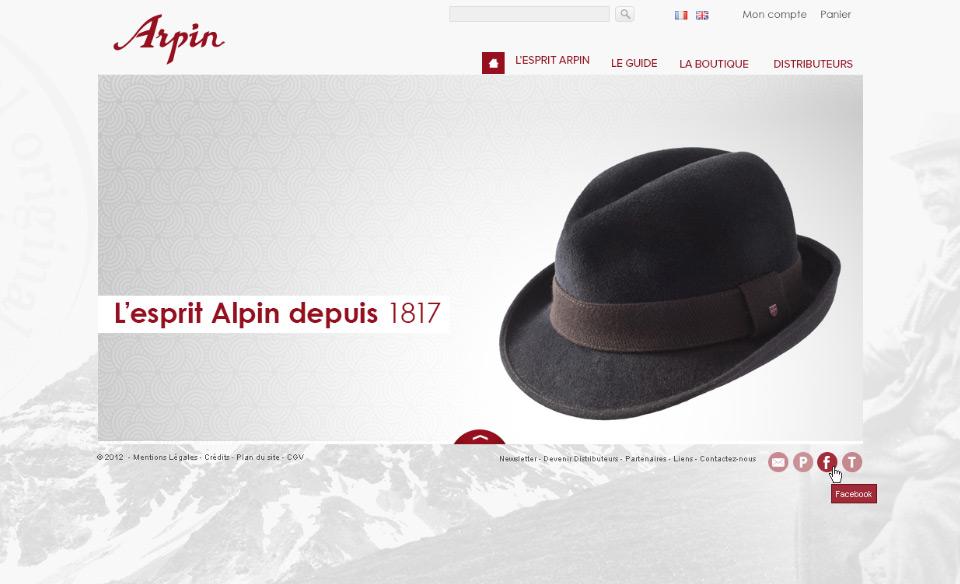Lucas & Lucas, agence web à Lyon - Filature Arpin