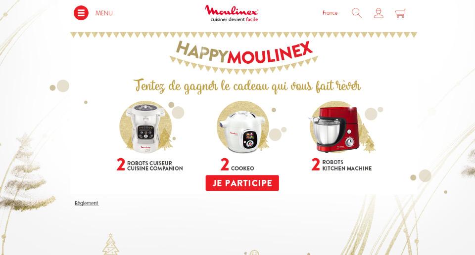 Lucas & Lucas - Jeu concours Moulinex