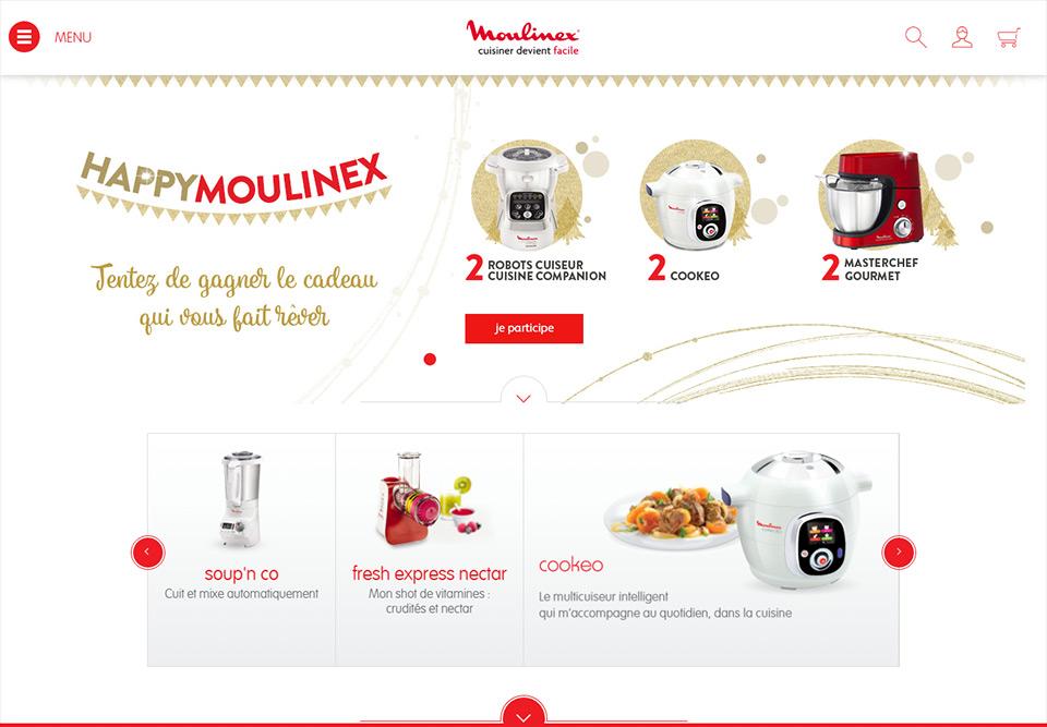 Lucas & Lucas - Création graphique jeu concours Moulinex